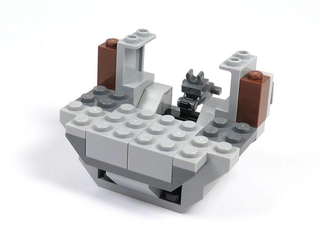 LEGO® 75211 Imperial TIE Fighter - Bauabschnitt 2 - Cockpit unterer Teil, Rückseite | ©2018 Brickzeit