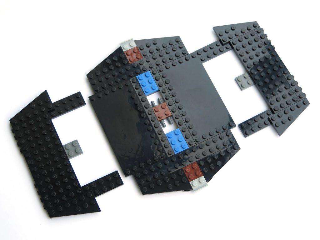 LEGO® 75211 Imperial TIE Fighter - Bauabschnitt 3 - Erweiterung Flügel | ©2018 Brickzeit