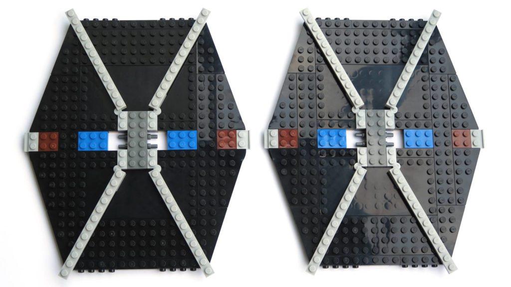 LEGO® 75211 Imperial TIE Fighter - Bauabschnitt 3 - erste Streben | ©2018 Brickzeit