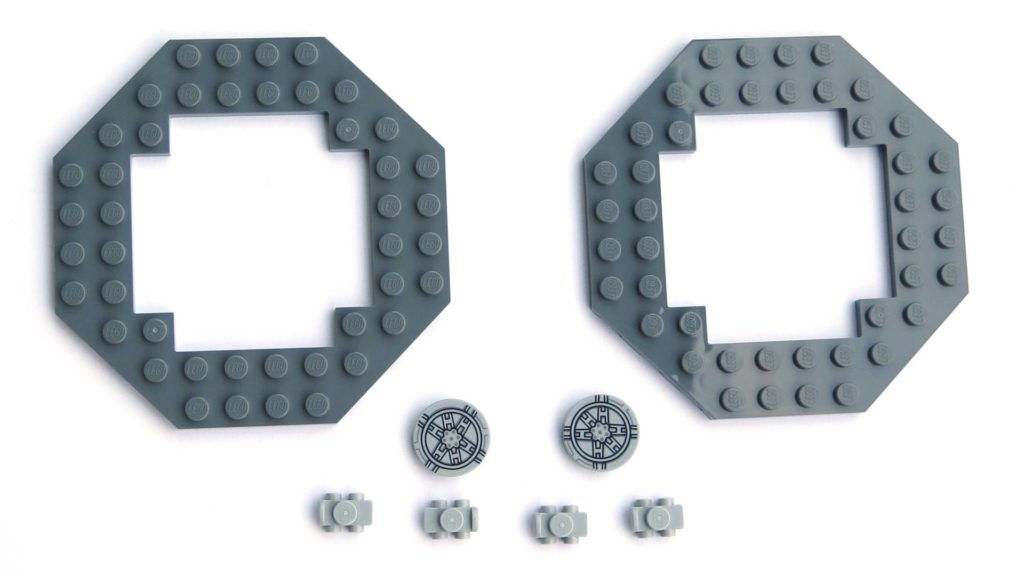 LEGO® 75211 Imperial TIE Fighter - Bauabschnitt 3 - spezielle Teile | ©2018 Brickzeit