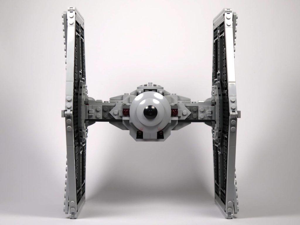LEGO® 75211 Imperial TIE Fighter - Rückseite | ©2018 Brickzeit