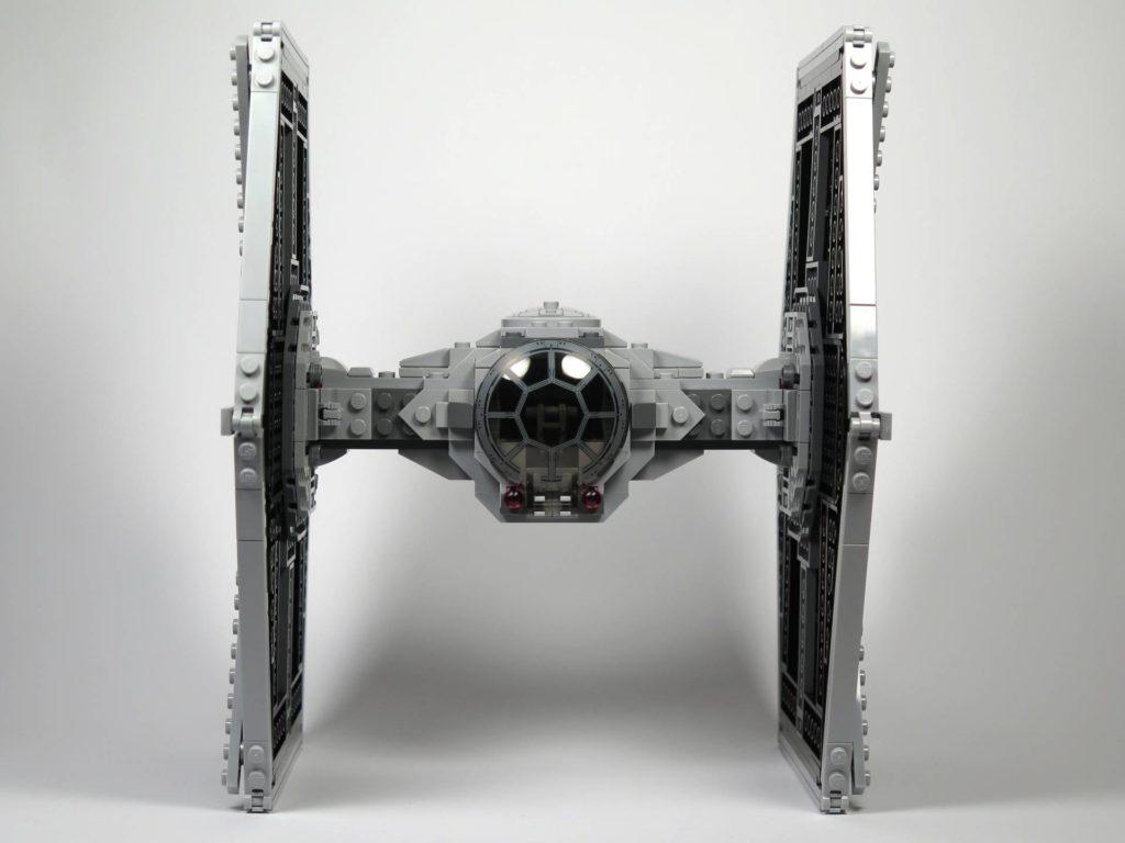 LEGO® 75211 Imperial TIE Fighter - Vorderseite | ©2018 Brickzeit
