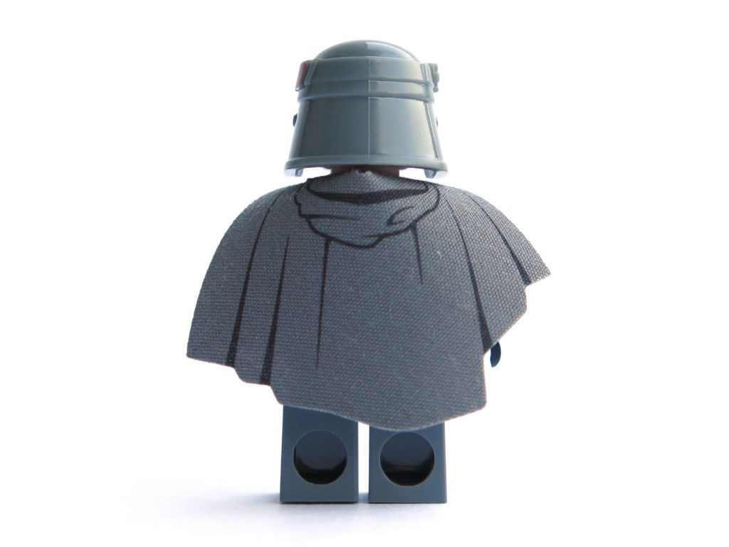 LEGO® 75211 - Minifigur Han Solo - Rückseite | ©2018 Brickzeit