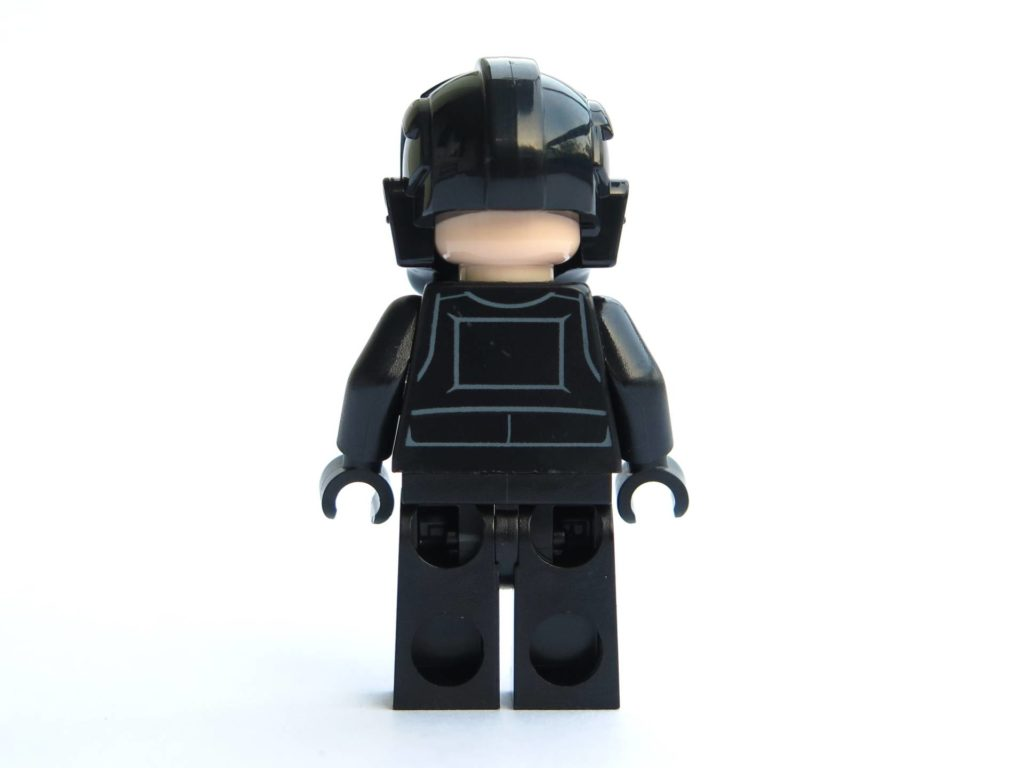 LEGO® 75211 - Minifigur Imperial Tie Fighter Pilot - Rückseite | ©2018 Brickzeit