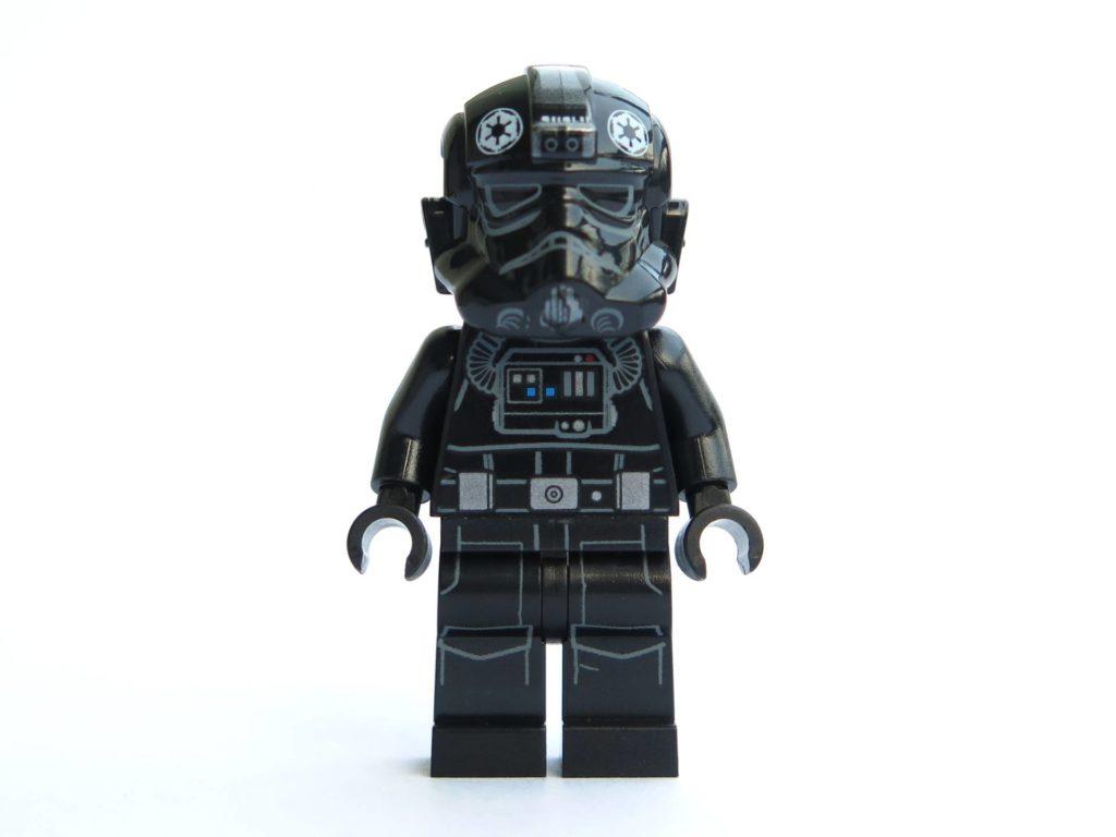LEGO® 75211 - Minifigur Imperial Tie Fighter Pilot - Vorderseite | ©2018 Brickzeit