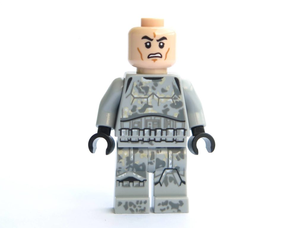 LEGO® 75211 - Minifigur Mimban Stormtrooper - Vorderseite ohne Zubehör | ©2018 Brickzeit