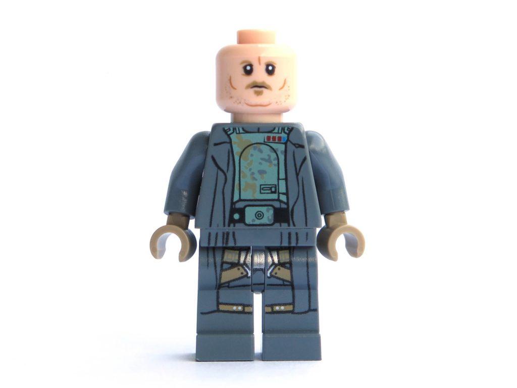 LEGO® 75211 - Minifigur Tobias Beckett - Vorderseite ohne Hut | ©2018 Brickzeit