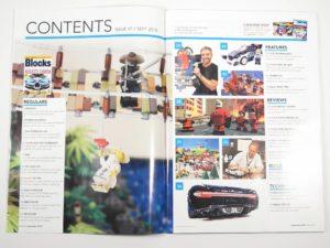 LEGO Blocks Magazin Ausgabe 47 - Inhalt