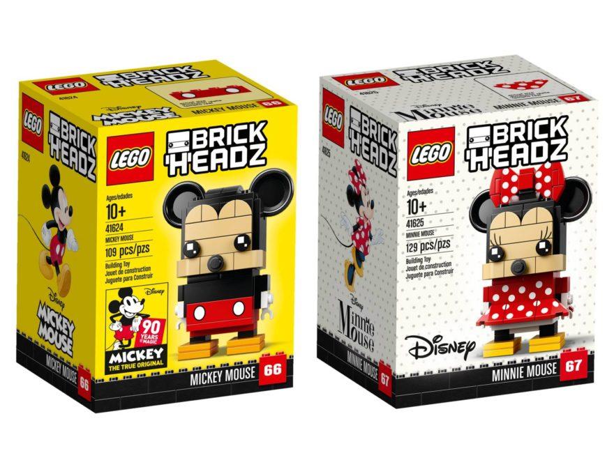 LEGO Brickheadz 41624 und 41625 - Titelbild