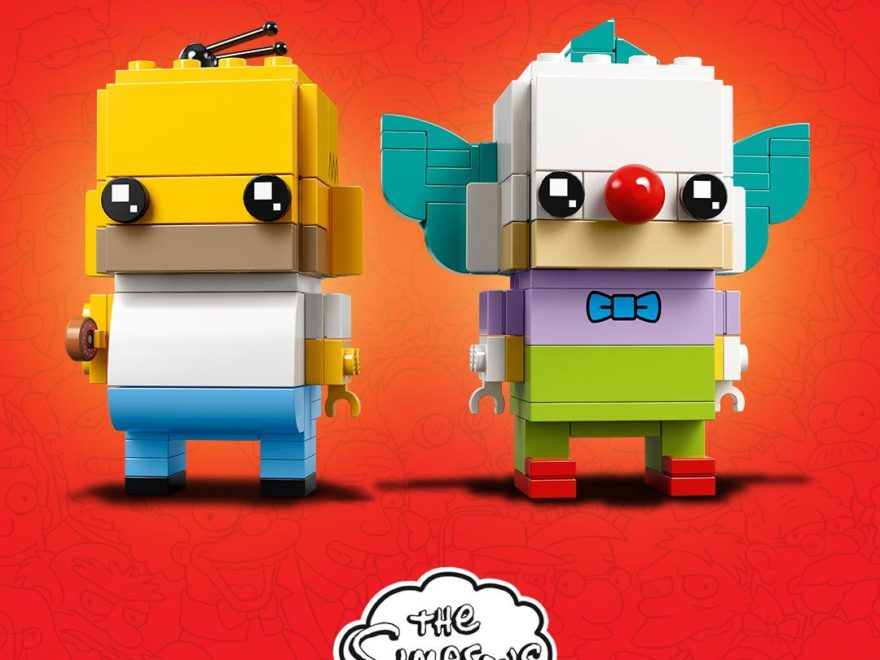LEGO® Brickheadz Homer Simpson und Krusty der Clown | ©2018 LEGO Gruppe