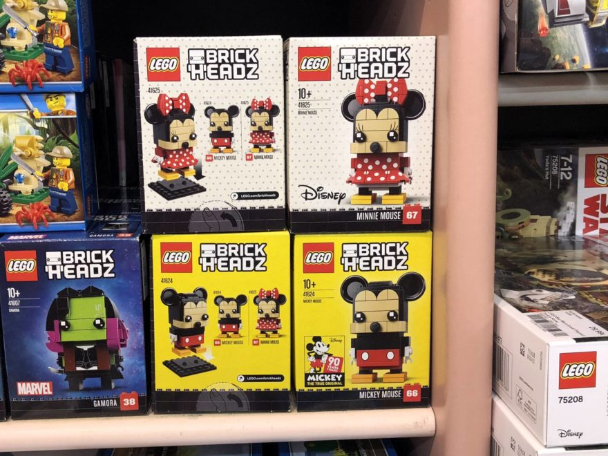 LEGO® Brickheadz Mickey Mouse 41624 und Minnie Mouse 41625 ...