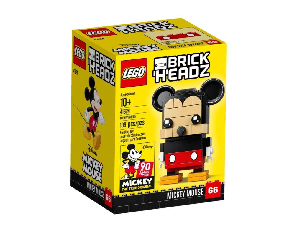 LEGO® Brickheadz Micky Maus 41624 - Packung Vorderseite | ©2018 LEGO Gruppe
