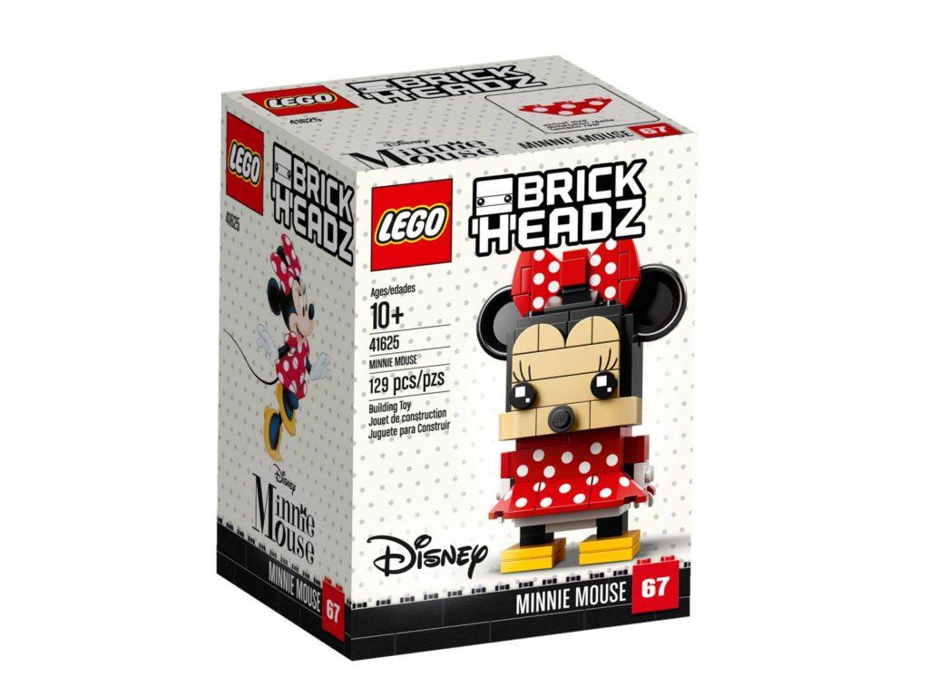 LEGO® Brickheadz Minnie Maus 41625 - Packung Vorderseite | ©2018 LEGO Gruppe