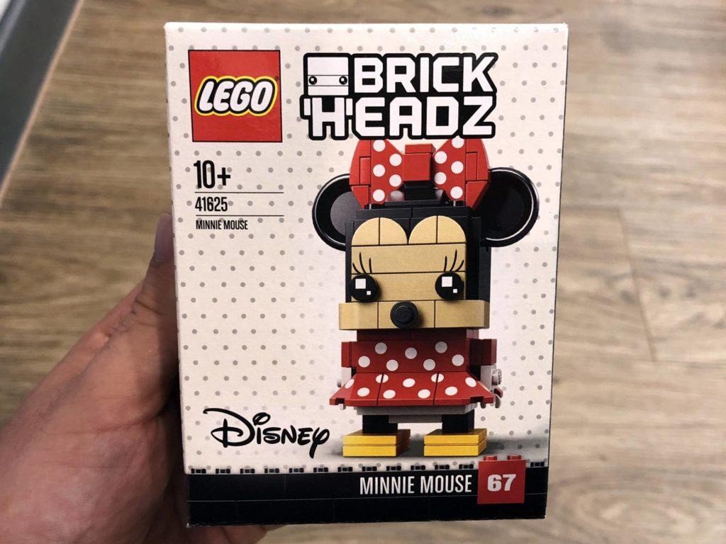 LEGO® Brickheadz Minnie Mouse 41625 - Packung Vorderseite | ©2018 Brickzeit