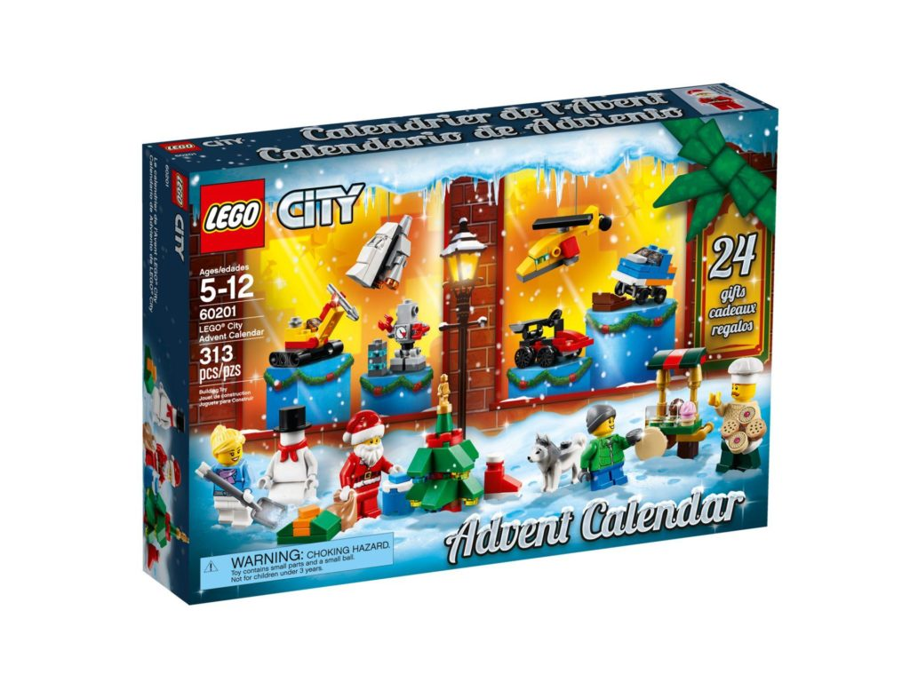 LEGO® City Adventskalender 2018 (60201) - Packung Vorderseite | ©LEGO Gruppe
