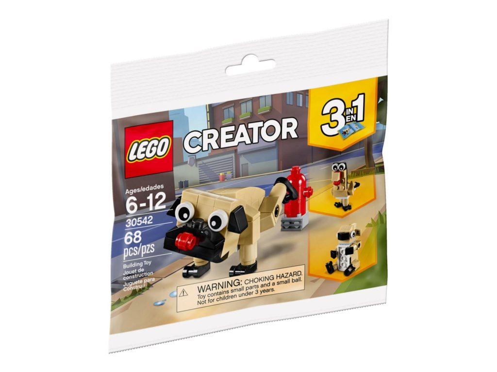 LEGO® Creator 3-in-1 Niedlicher Mops (30542) Polybag | ©2018 LEGO Gruppe