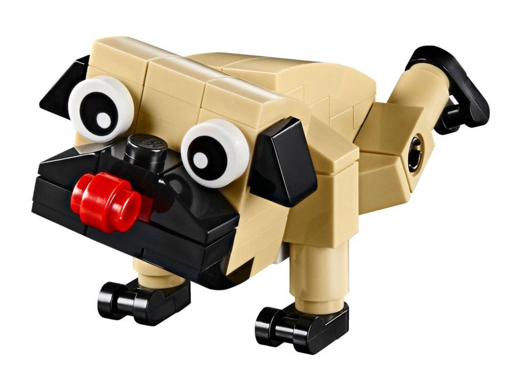 LEGO® Creator 3-in-1 Niedlicher Mops (30542) - Hund | ©2018 LEGO Gruppe