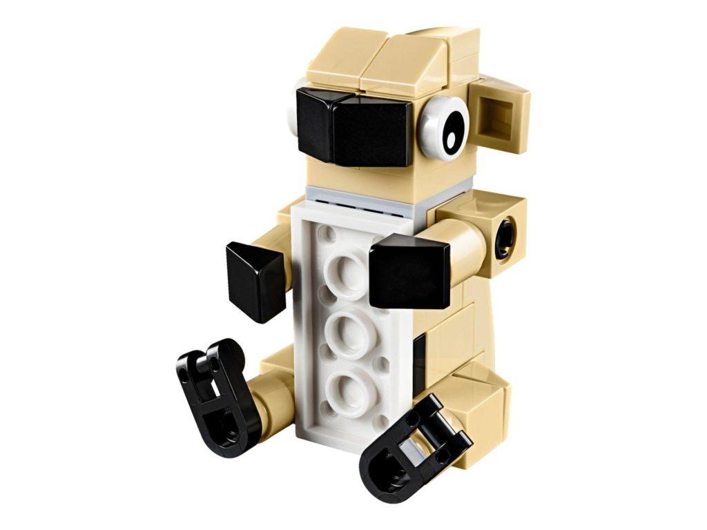 LEGO® Creator 3-in-1 Niedlicher Mops (30542) - Lamm | ©2018 LEGO Gruppe