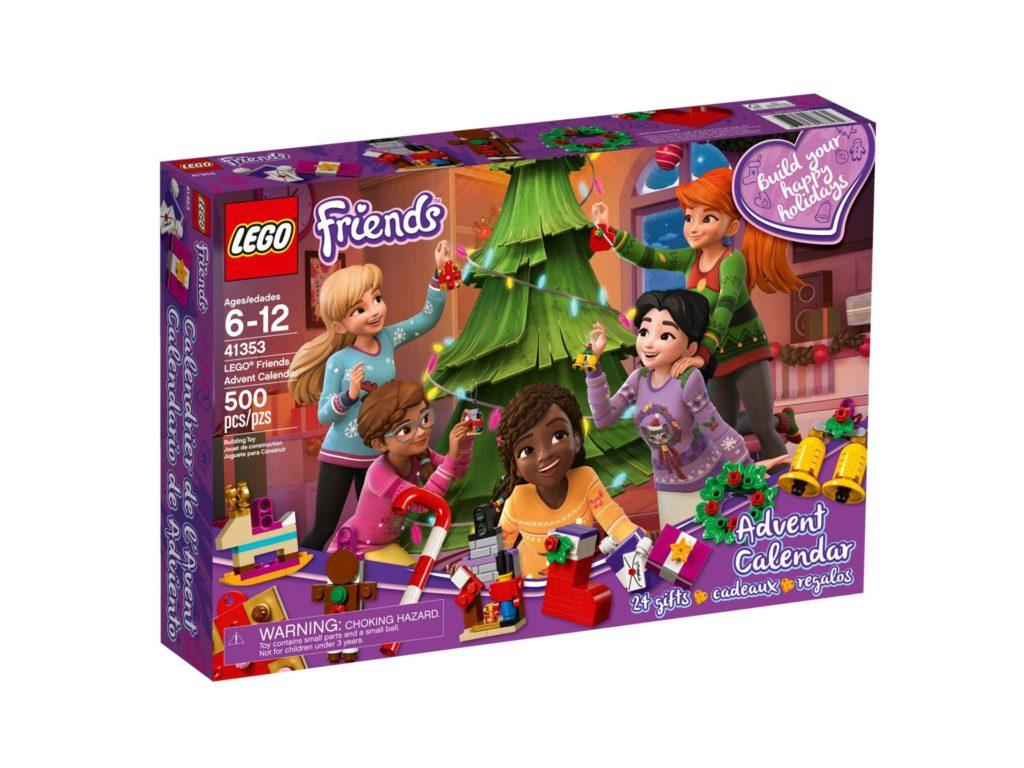 LEGO® Friends Adventskalender 2018 (41353) - Packung Vorderseite | ©LEGO Gruppe