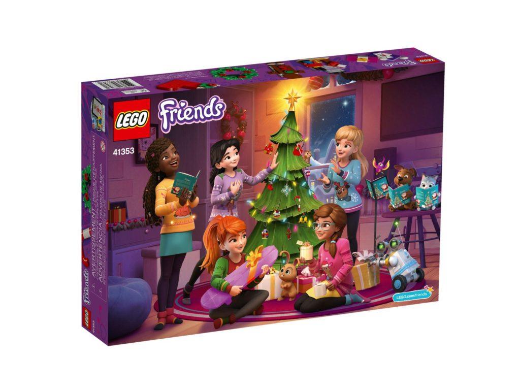 LEGO® Friends Adventskalender 2018 (41353) - Packung Rückseite | ©LEGO Gruppe