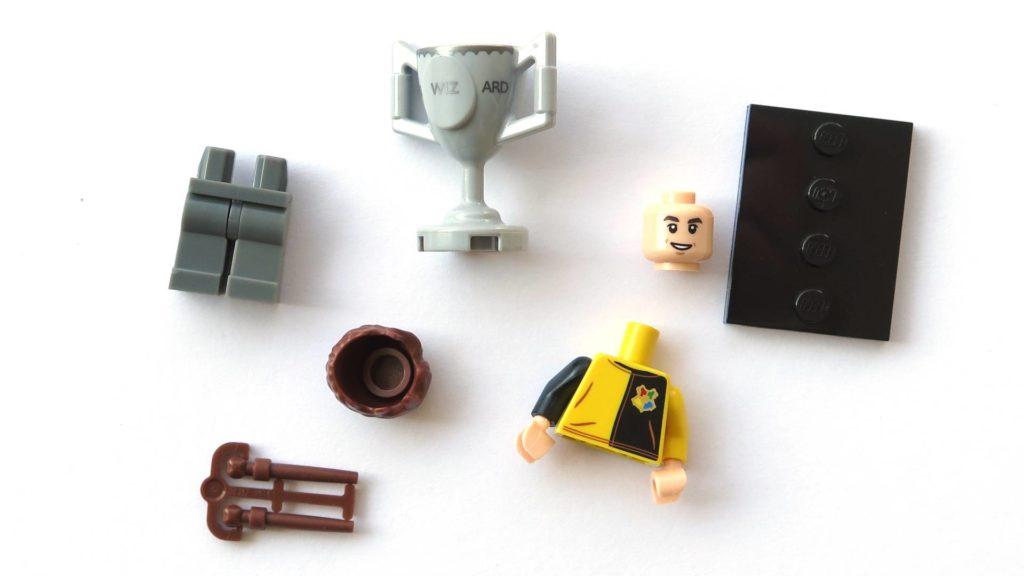 LEGO 71022 - Nr. 12 - Cedric Diggory - Einzelteile | ©2018 Brickzeit