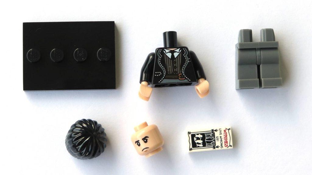 LEGO 71022 - Nr. 21 - Credence Barebone - Einzelteile | ©2018 Brickzeit