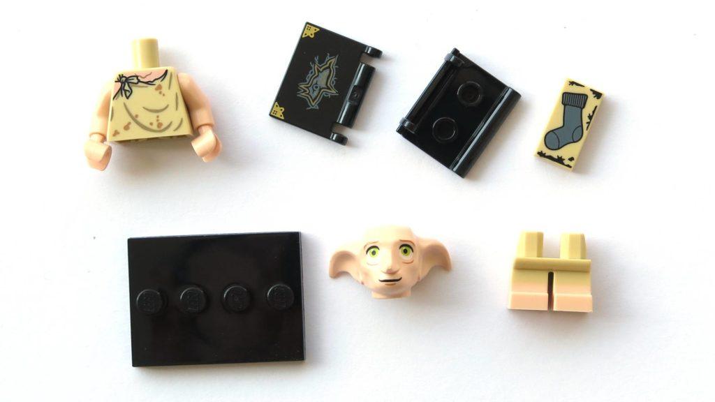 LEGO 71022 - Nr. 10 - Dobby - Einzelteile | ©2018 Brickzeit