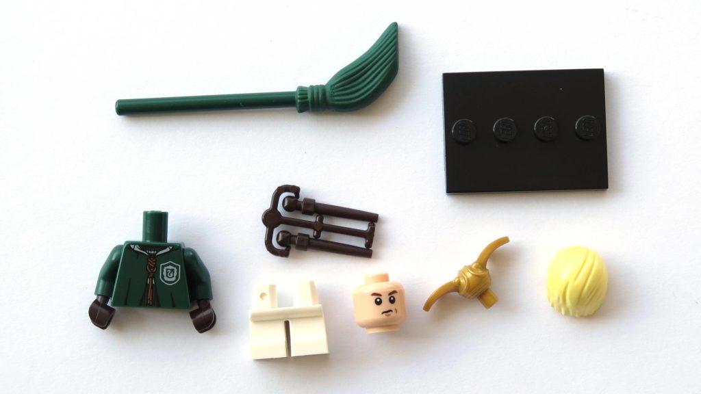 LEGO 71022 - Nr. 4 - Draco Malfoy - Einzelteile | ©2018 Brickzeit
