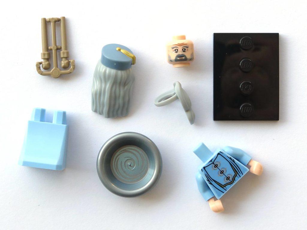 LEGO 71022 - Nr. 16 - Albus Dumbledore - Einzelteile | ©2018 Brickzeit