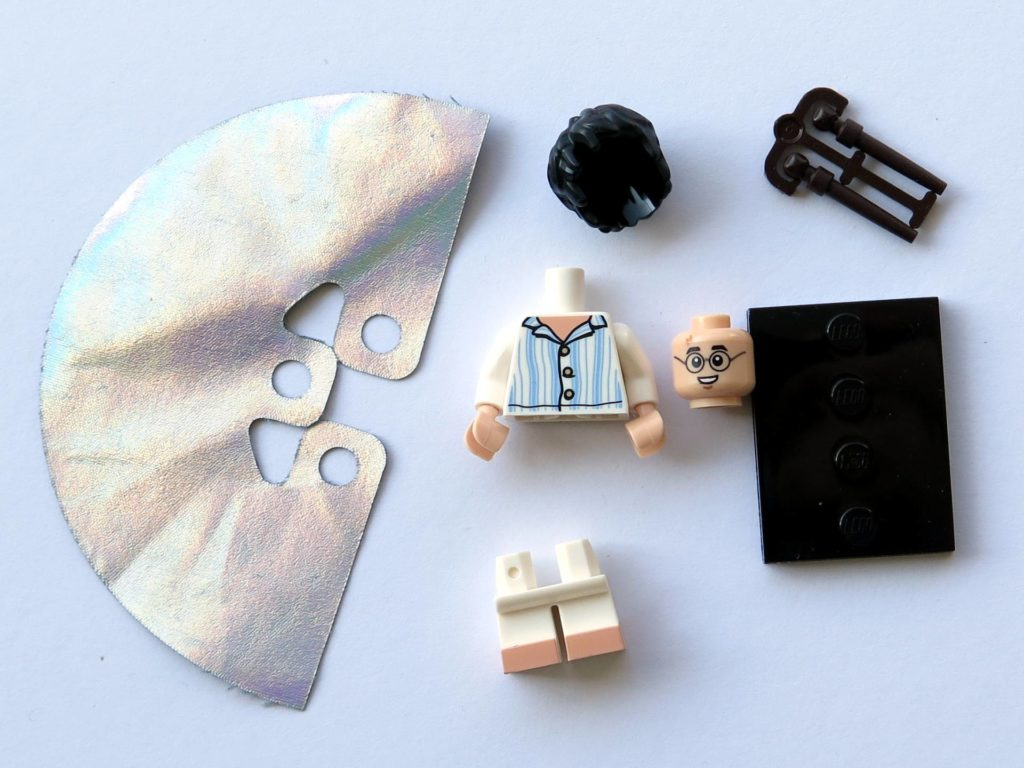 LEGO 71022 - Nr. 15 - Harry Potter im Schlafanzug - Einzelteile | ©2018 Brickzeit