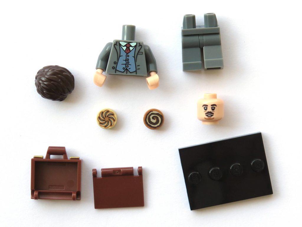 LEGO 71022 - Nr. 19 - Jacob Kowalski - Einzelteile | ©2018 Brickzeit