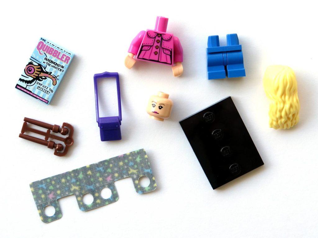 LEGO 71022 - Nr. 5 - Luna Lovegood - Einzelteile | ©2018 Brickzeit