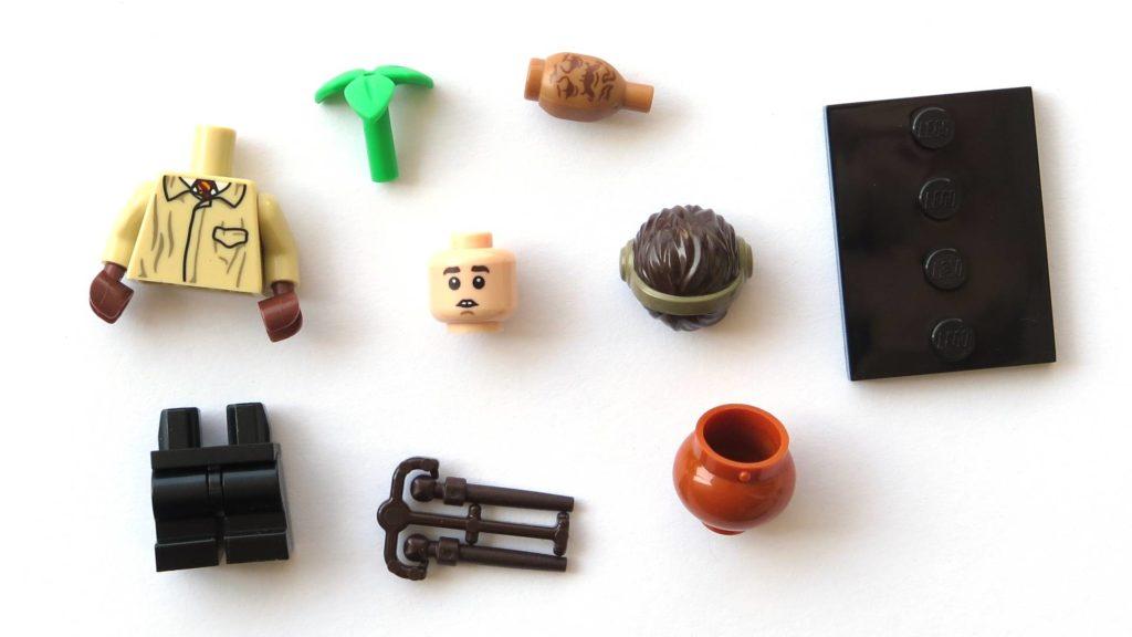 LEGO 71022 - Nr. 6 - Neville Longbottom - Einzelteile | ©2018 Brickzeit