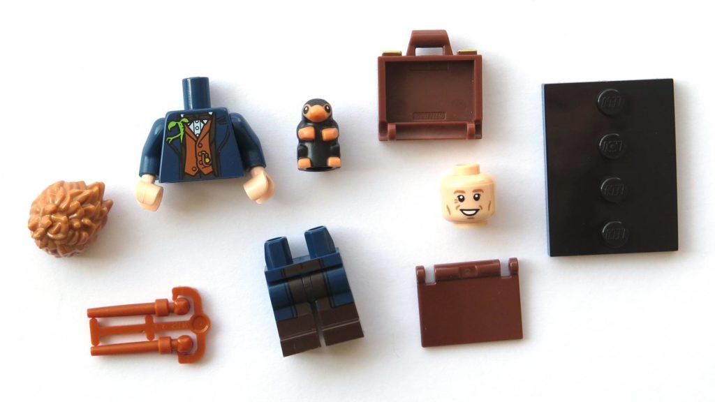 LEGO 71022 - Nr. 17 - Newt Scamander - Einzelteile | ©2018 Brickzeit
