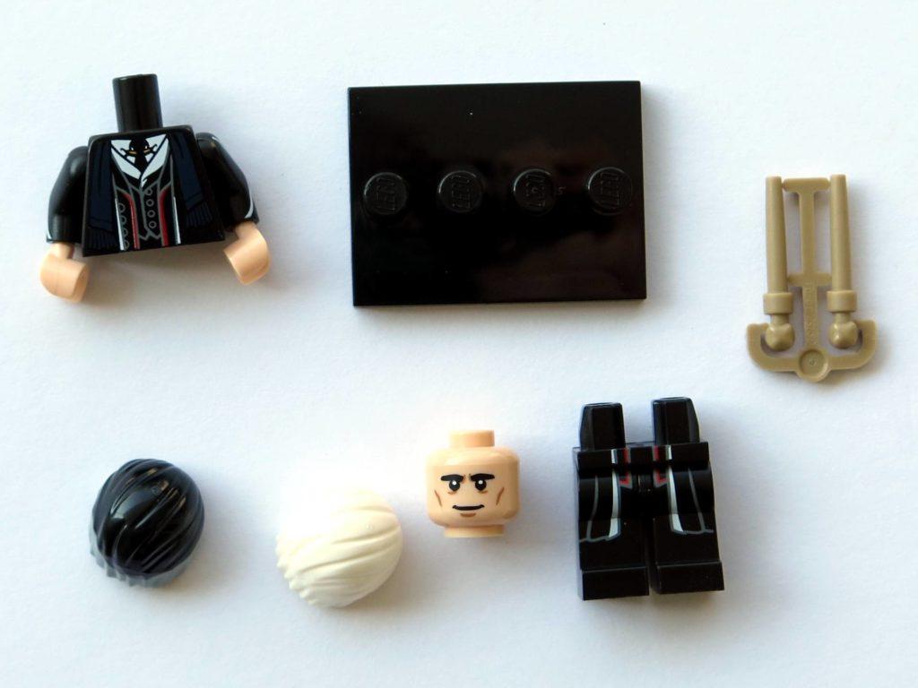 LEGO 71022 - Nr. 22 - Percival Graves - Einzelteile | ©2018 Brickzeit