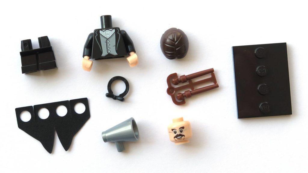 LEGO 71022 - Nr. 13 - Professor Flitwick - Einzelteile | ©2018 Brickzeit
