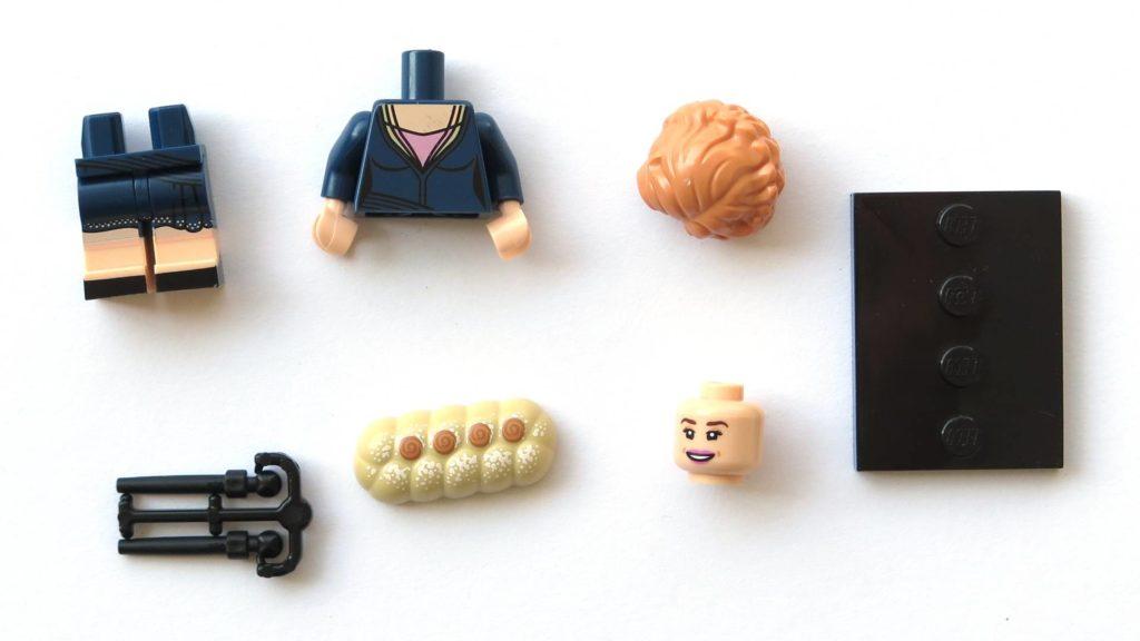 LEGO 71022 - Nr. 20 - Queenie Goldstein - Einzelteile | ©2018 Brickzeit