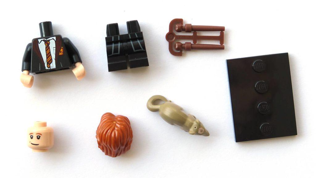 LEGO 71022 - Nr. 3 - Ron Weasley in Schuluniform - Einzelteile | ©2018 Brickzeit