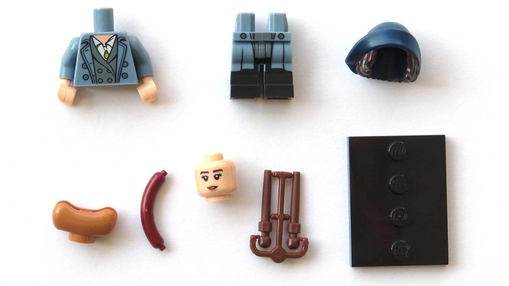 LEGO 71022 - Nr. 18 - Tina Goldstein - Einzelteile | ©2018 Brickzeit