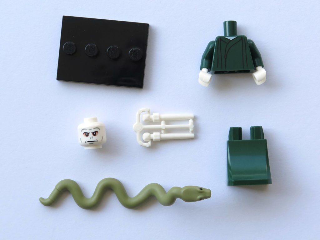 LEGO 71022 - Nr. 9 - Voldemort - Einzelteile | ©2018 Brickzeit