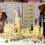 Justin Ramsden & Crystal Fontan mit Schloss Hogwarts 71043 im Designer Video | ©LEGO Gruppe