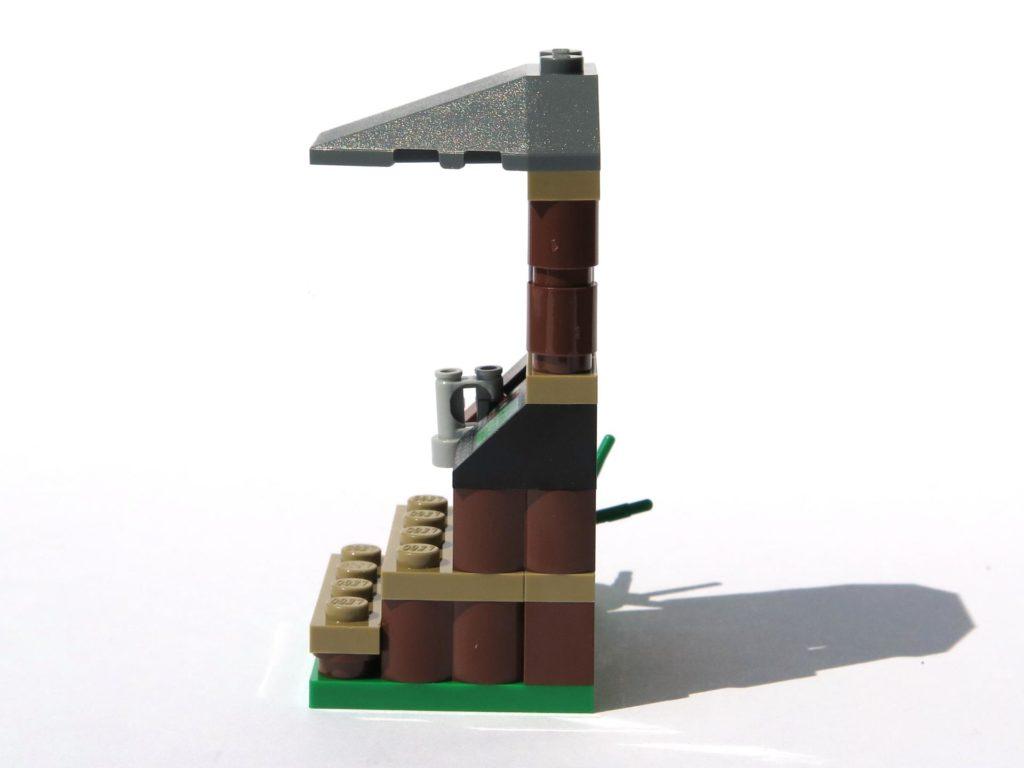 LEGO® Jurassic World Magazin Nr. 2 - Beobachtungsstand linke Seite | ©2018 Brickzeit