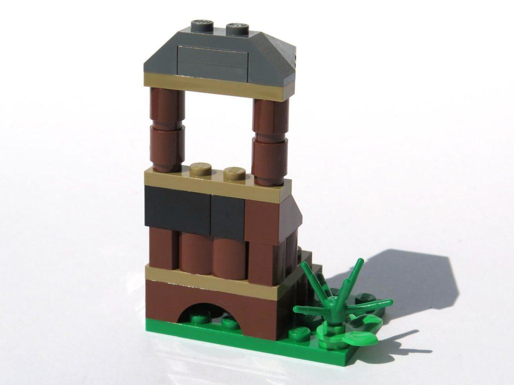 LEGO® Jurassic World Magazin Nr. 2 - Beobachtungsstand Rückseite | ©2018 Brickzeit