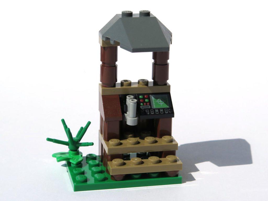 LEGO® Jurassic World Magazin Nr. 2 - Beobachtungsstand Perspektive | ©2018 Brickzeit