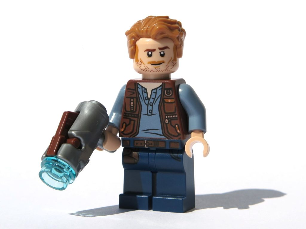 LEGO® Jurassic World Magazin Nr. 2 - Owen mit Shooter | ©2018 Brickzeit