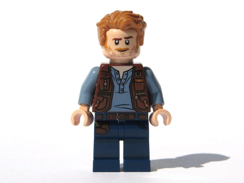 LEGO® Jurassic World Magazin Nr. 2 - Owen Vorderseite | ©2018 Brickzeit
