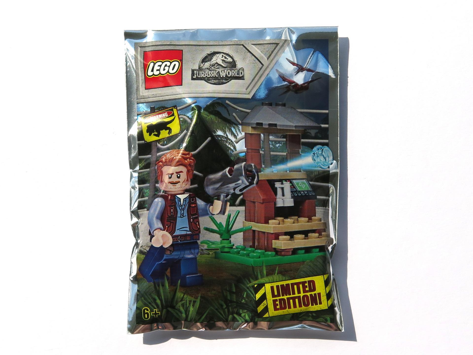 LEGO Magazin JURASSIC WORLD No 2 mit OWEN mit Beobachtungsposten