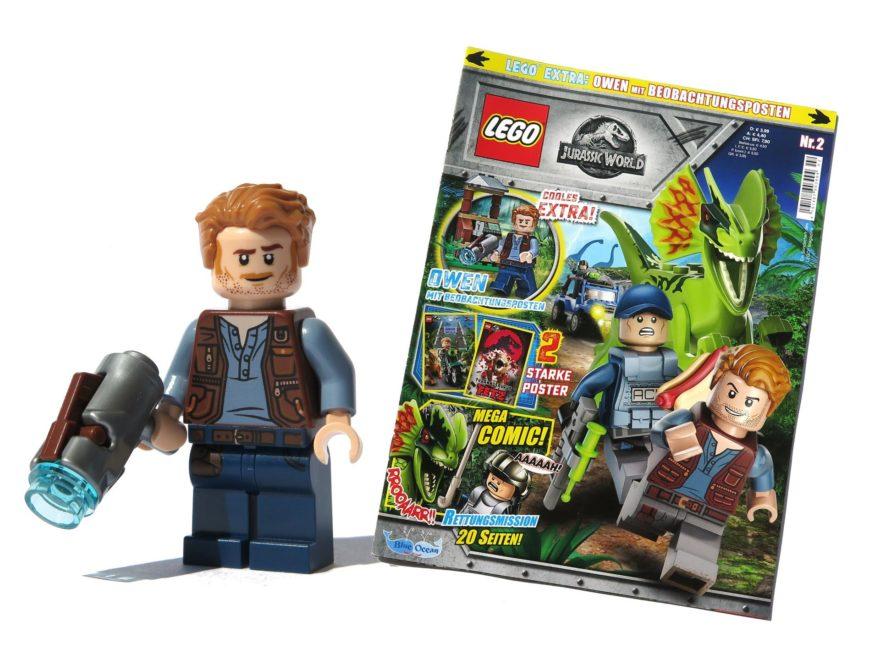LEGO® Jurassic World Magazin Nr. 2 - Titelbild | ©2018 Brickzeit