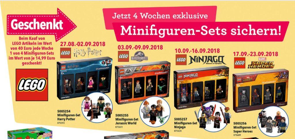 "Ausblick auf LEGO Minifiguren Sets | ©Toys""R""Us"