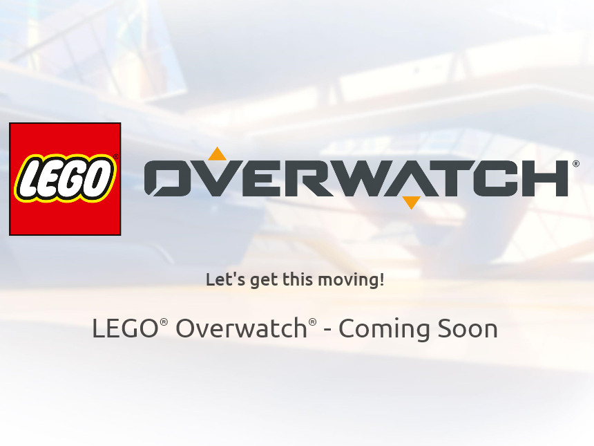 LEGO Overwatch Cooming Soon Teaser | ©2018 LEGO Gruppe